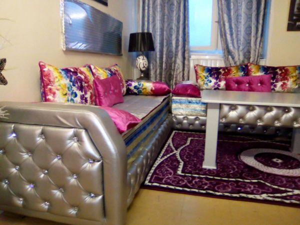 Salon Marocain Oriental, Design, Moderne, pas cher ⋆ BledyShop