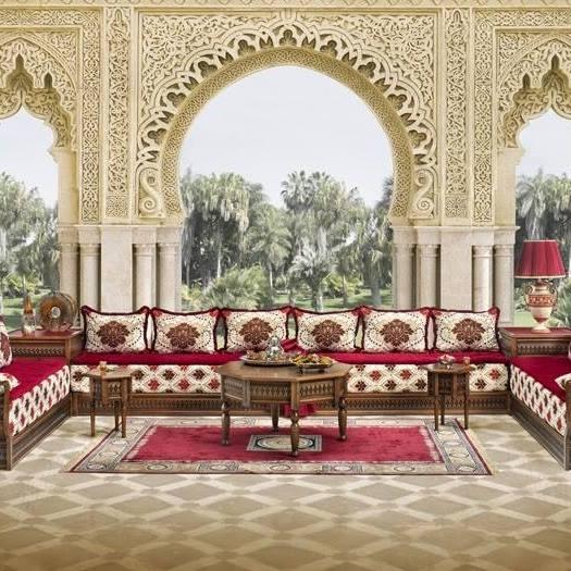 Salon marocain bazar de la poste