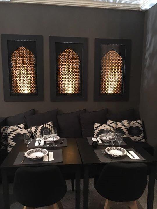Banquette, Restaurant oriental Le Hoggar, bledyshop
