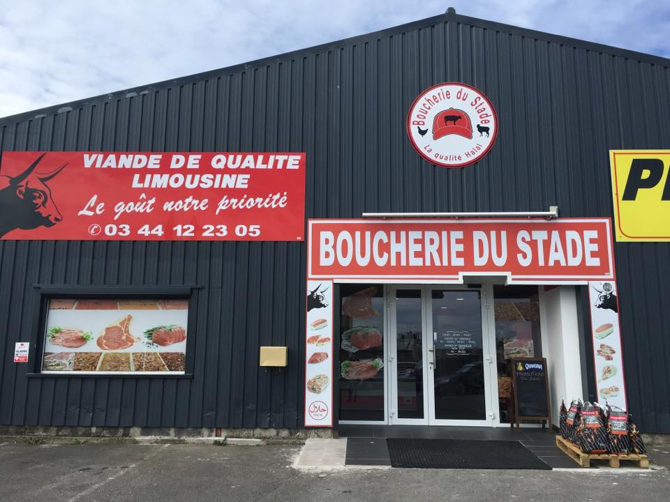 Boucherie halal du stade