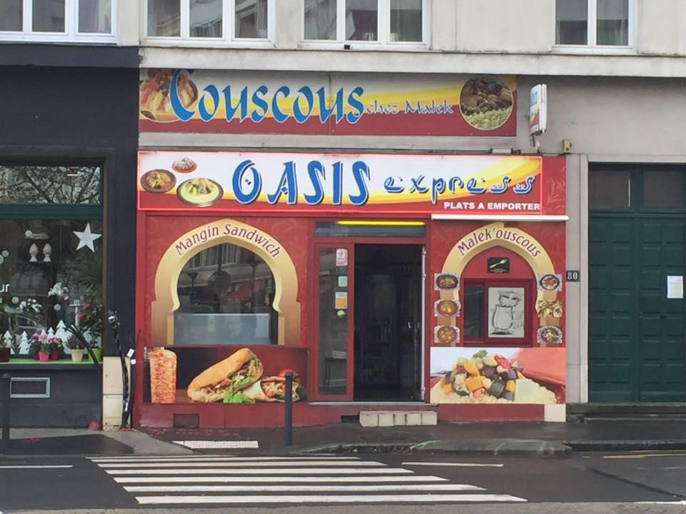 Façade, Oasis Express Traiteur, Nantes