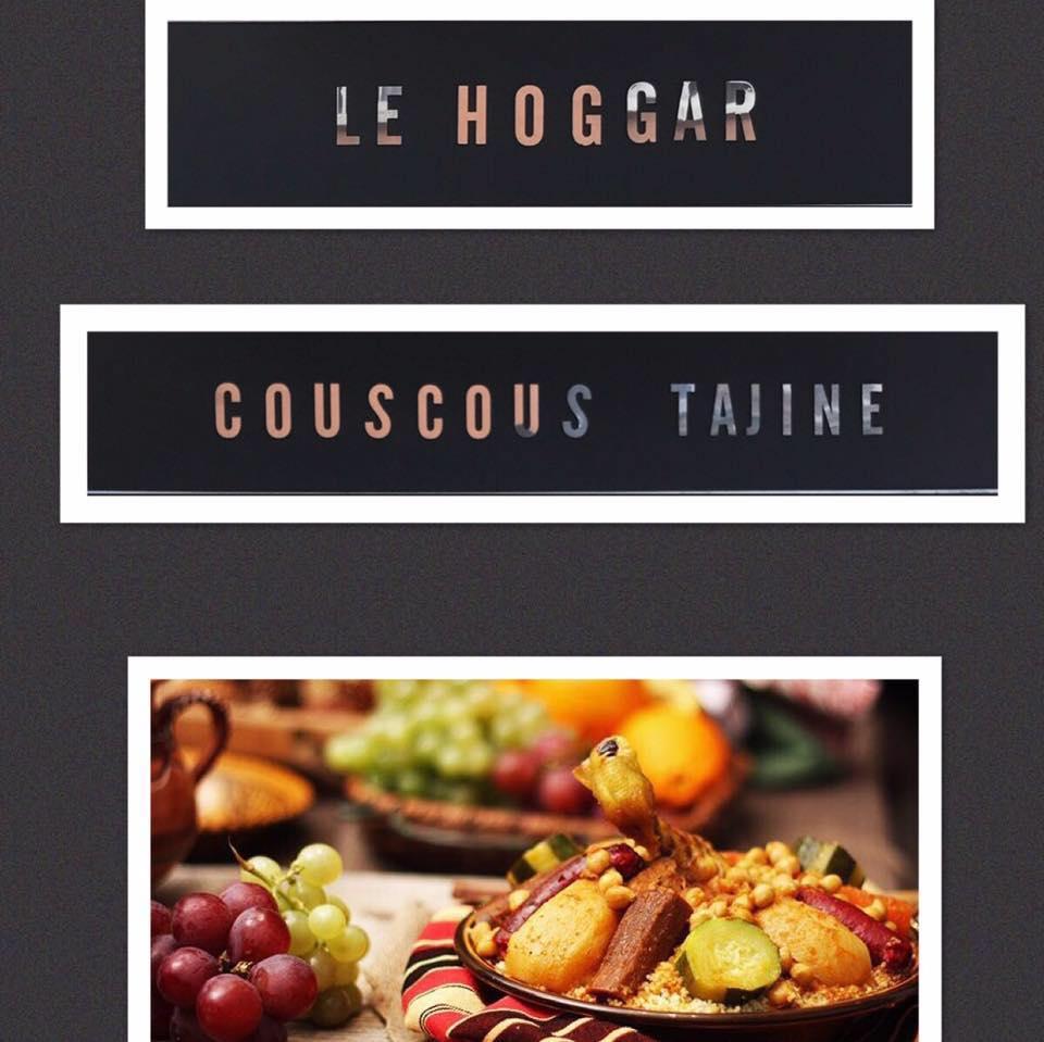 Flyers, Restaurant oriental Le Hoggar
