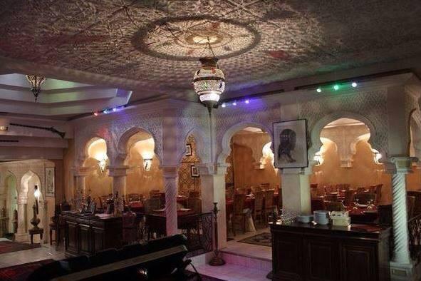 Intérieur du restaurant, le palais bahia, nantes