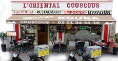 Façade du restaurant, L'Oriental Couscous, Caen