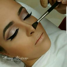 Maquillage au pinceau, Asmaa Shadows Makeup Artist, bledyshop