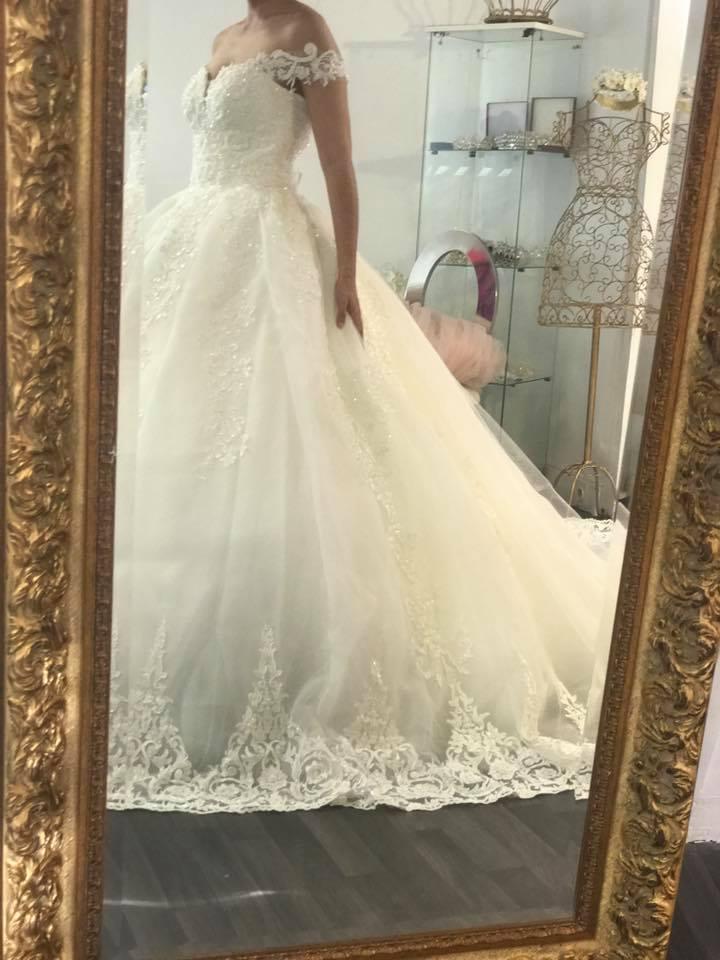Robe de mariée, Lamia Beauty Artist, bledyshop