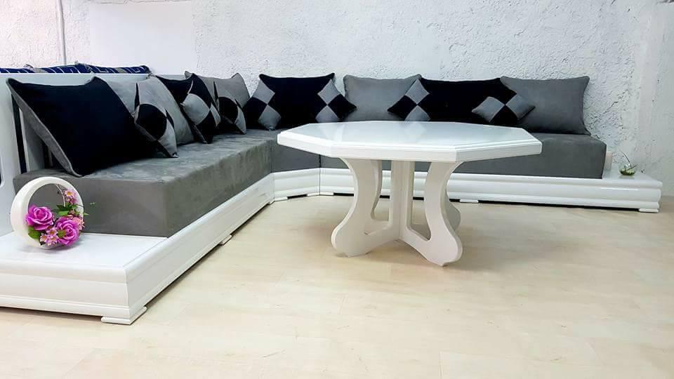 Palais d orient salons marocains sarrians bledyshop for Salon marocain blanc