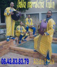Tenues jaunes, Dakka marrakchia Toulon, bledyshop