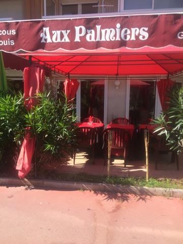 Terrasse, Aux Palmiers, Cannes, bledyshop