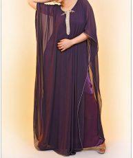 caftan violet, L'ateliers de confection El Karroumi, bledyshop