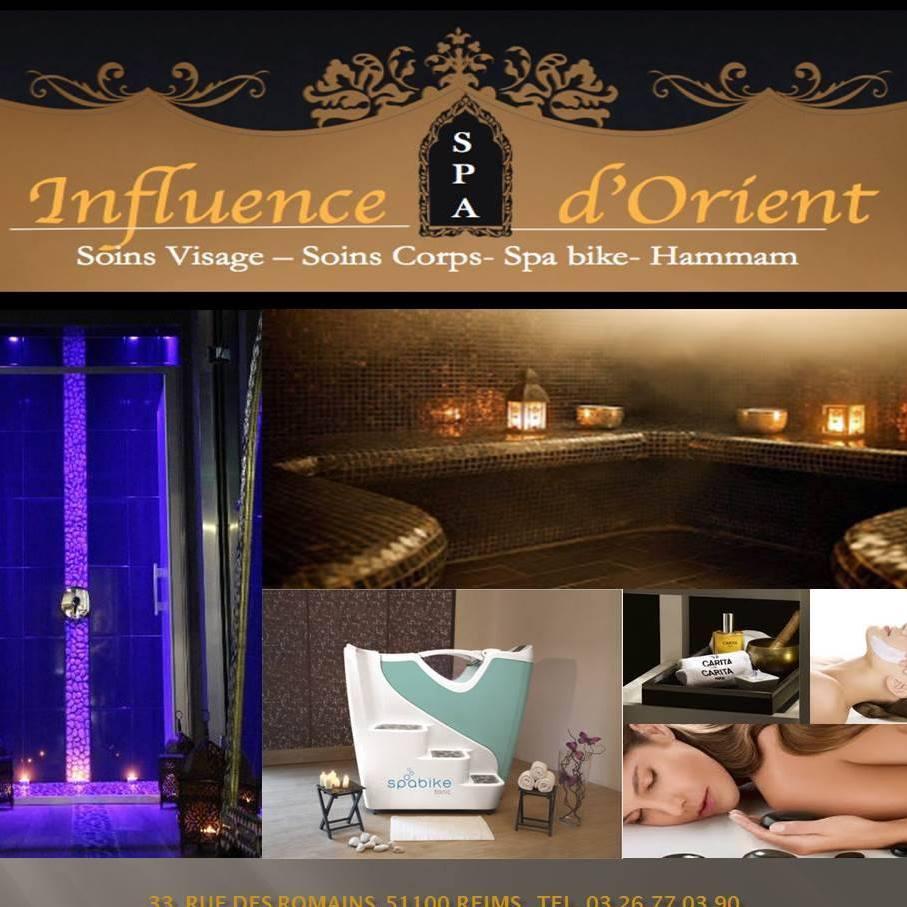 flyer, Spa et Institut Influence d'Orient, bledyshop