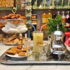 plateau de thé, Alrayan Pâtisseries Orientales, Nantes