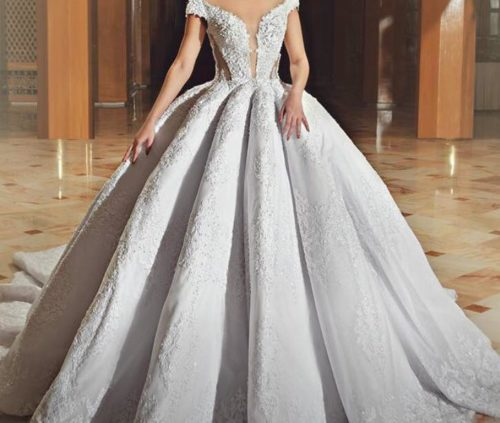 robe de mariée, Espace Nour de Sihem msaddak, bledyshop