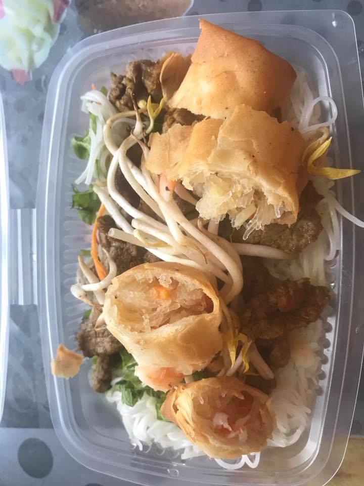 Bo bun salade, It's my nem's, Traiteur cuisine asiatique, livraison à domicile, bledyshop