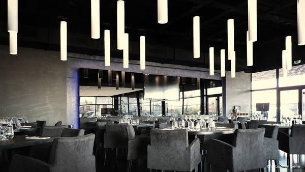 Salle d'intérieur, Restaurant Archipel, Bledyshop