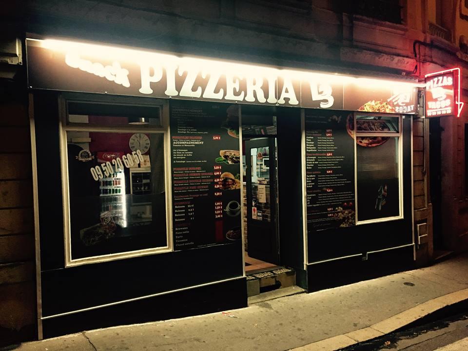 façade, Snack Pizzeria Tacos D3, bledyshop