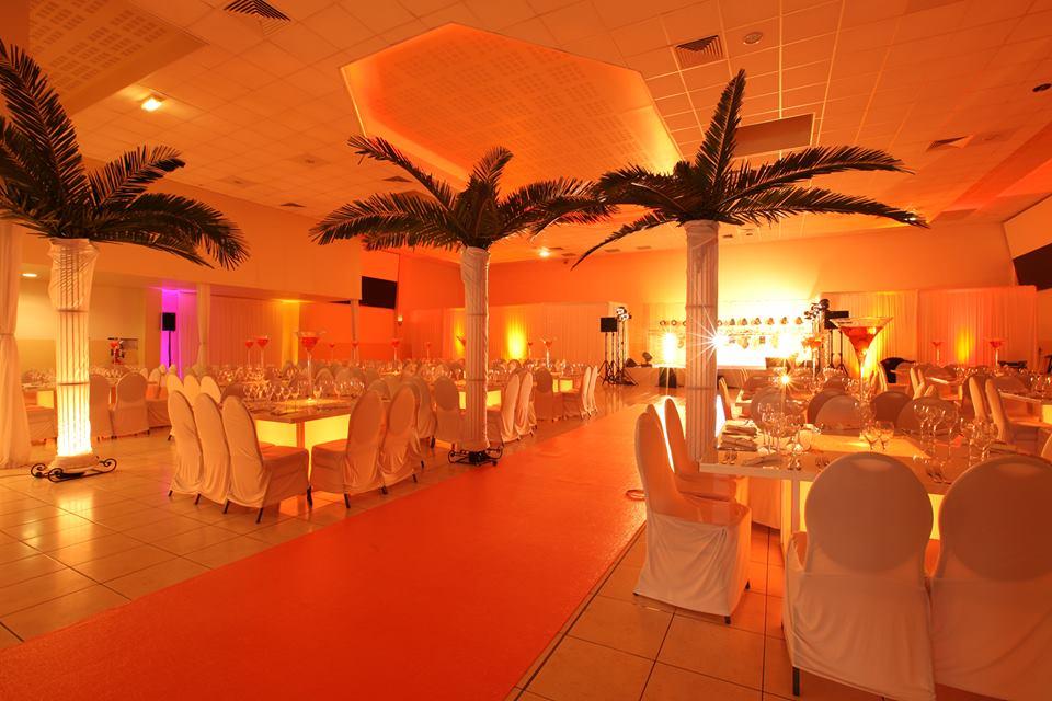 Décoration salle de mariage, Salle Aux tulipes, bledyshop