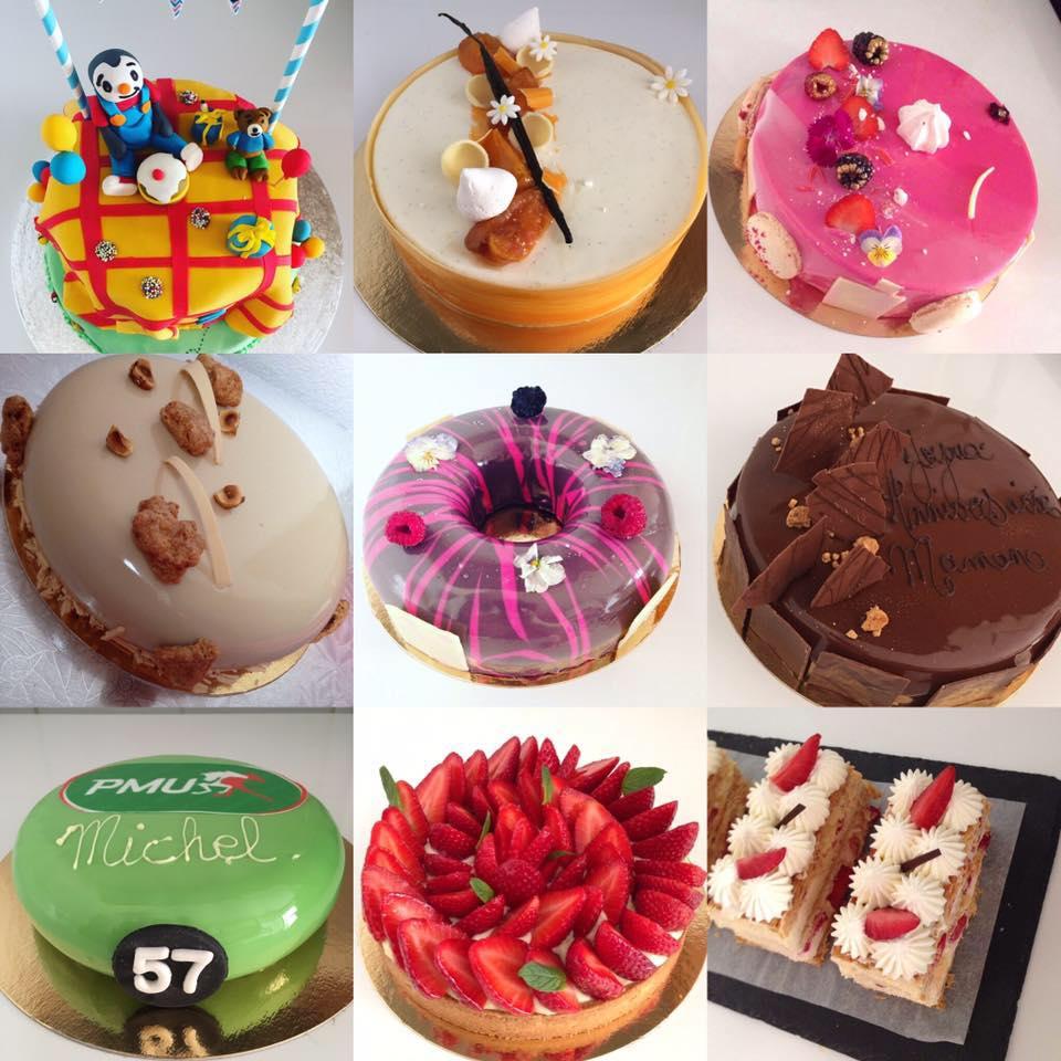 Gateaux anniversaires, Cake's Delices Annemasse, bledyshop
