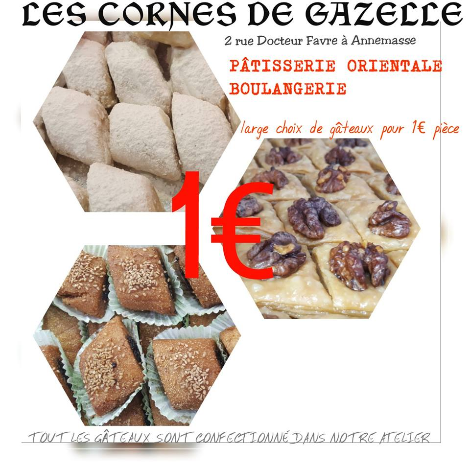 Pâtisserie orientale 1€, Corne De Gazelle, bledyshop