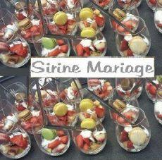 Verrine, Sirine mariage traiteur, bledyshop