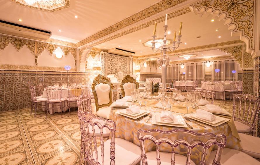 décoration salle de mariage, Les Noces Royales, bledyshop