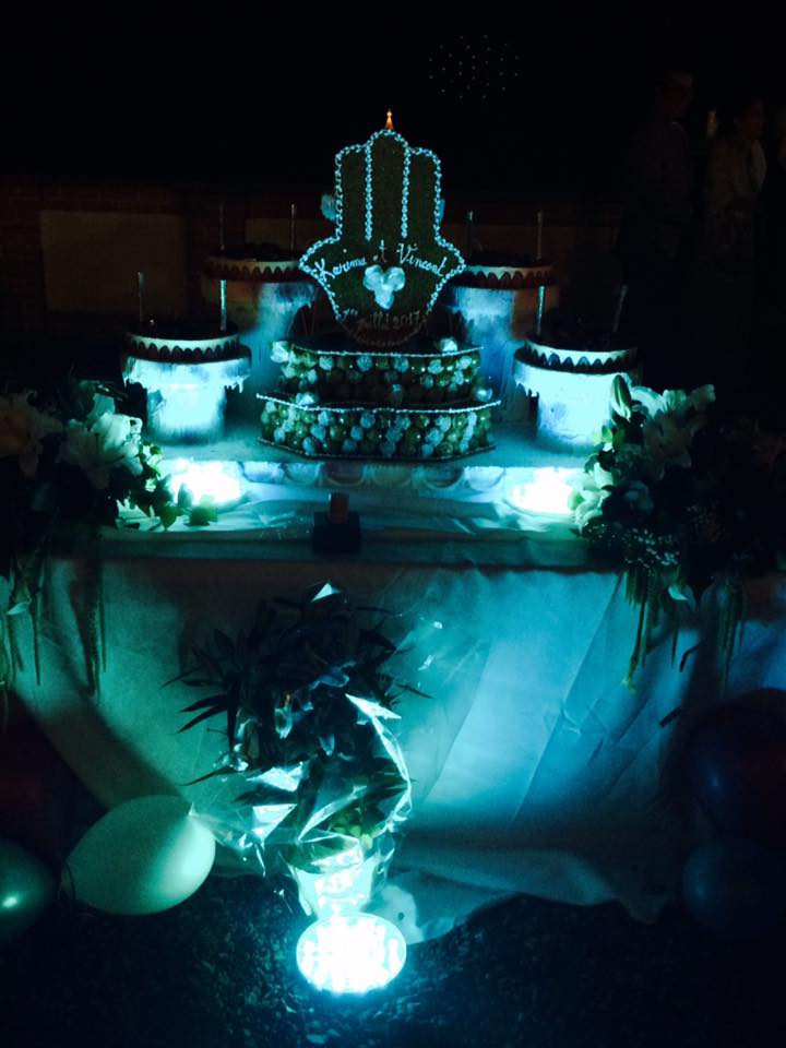 gateau DE MARIAGE, Majliss Réceptions Traiteur Halal, bledyshop