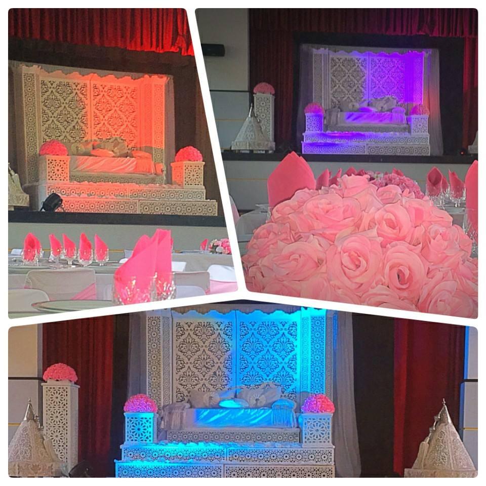 salle de mariage, 1001 Réceptions, bledyshop