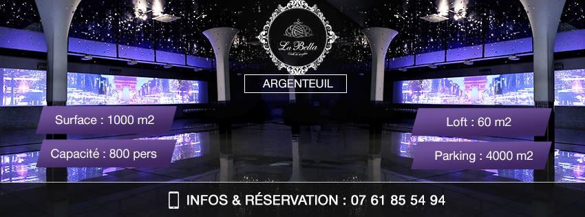 salle de mariage, La Bella Argenteuil, bledyshop