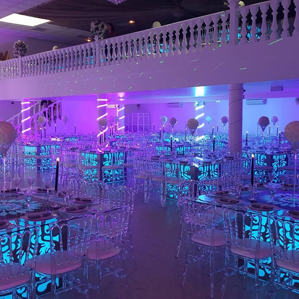 salle de mariage lumineuse, Espace Melinda, bledyshop