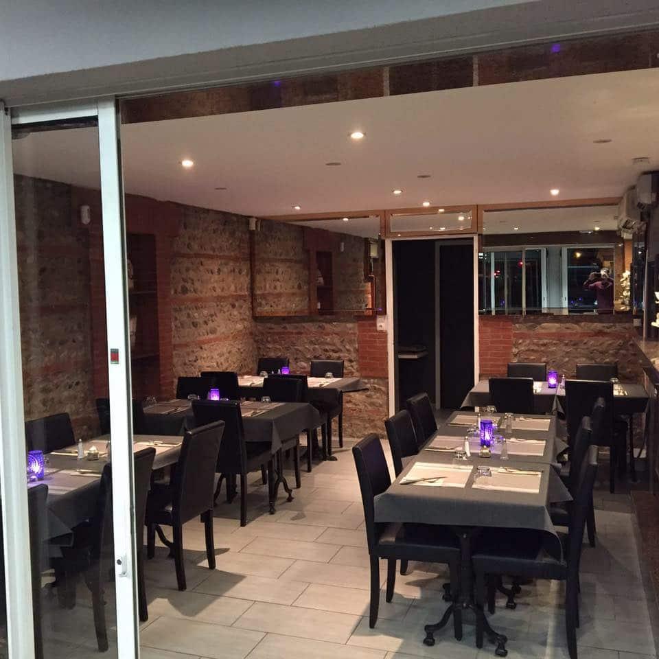 salle intérieur, Restaurant L'inédit, bledyshop
