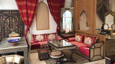 Carrefour de l'orient salon marocain rouge, bledyshop