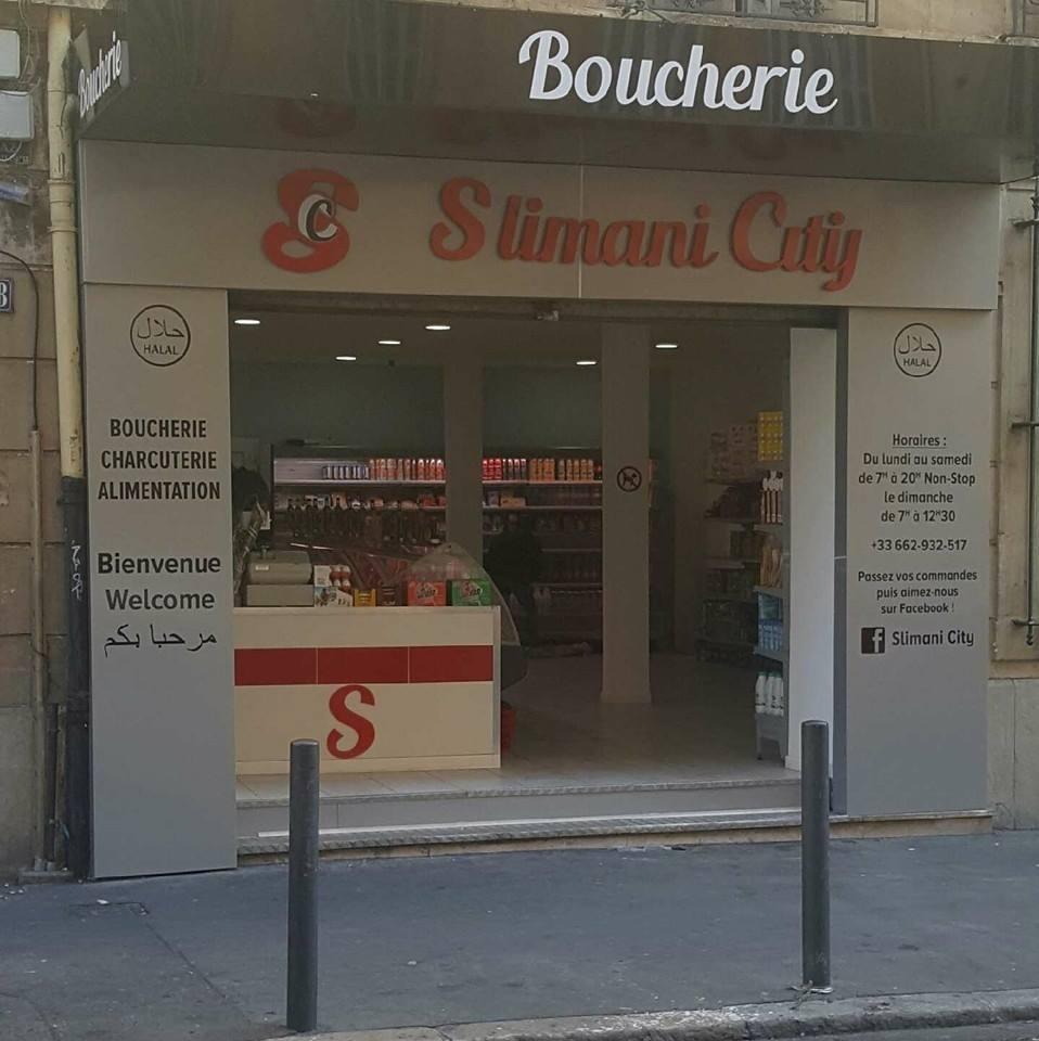 façade, Boucherie Slimani, bledyshop