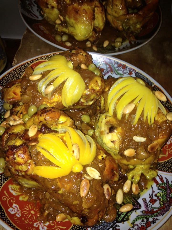 poulet aux olives, Apéritif Mille Délice, bledyshop
