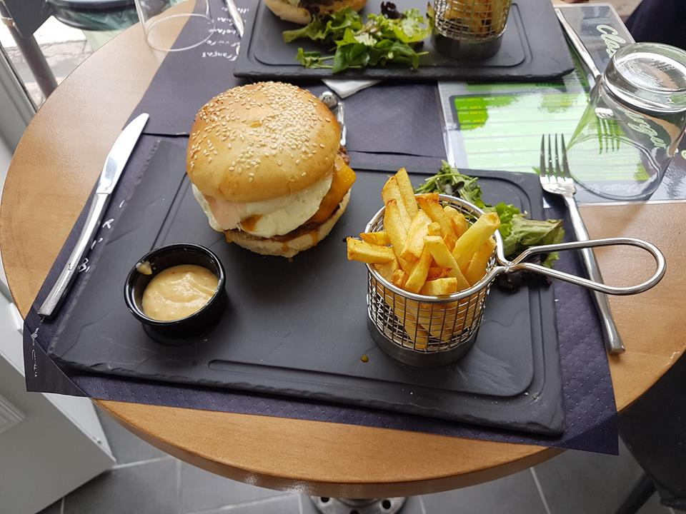Hamburger frite, Classic Burger, bledyshop