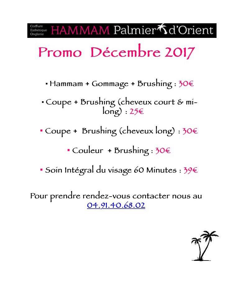 Promo Hammam, Le Palmier d'Orient, Bledyshop