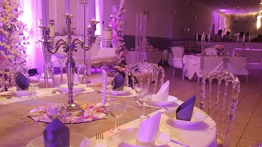 Table des mariés, Camelia Palace, Bledyshop