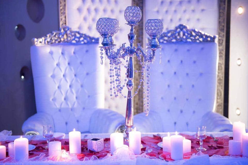 Table des mariés, les salons de l'hermitage, Bledyshop