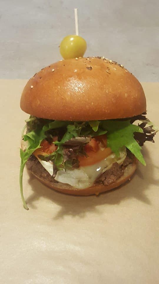 chèvre-miel burger, Lart'isan, bledyshop